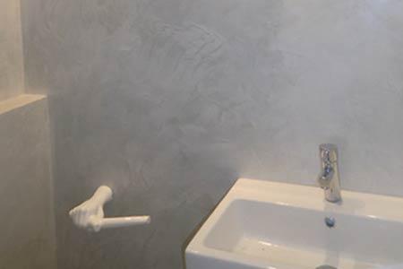 estuco de baño