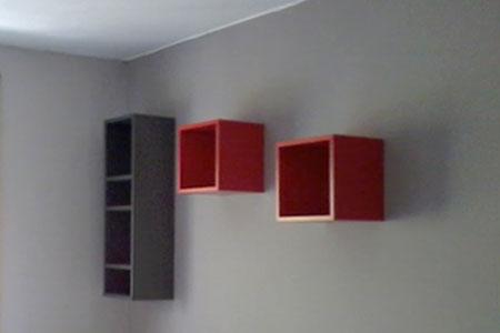 Pintura habitación de dos colores